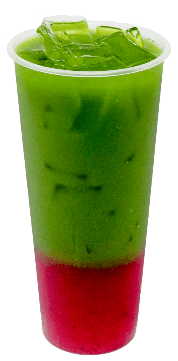 Yuzu Dragon Fruit Matcha