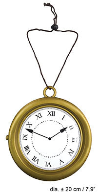 Clock Necklace Oversize