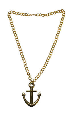 Necklace Ship Anchor
