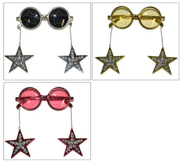 Glasses With Star Earrings