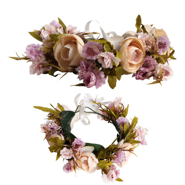 Floral Rose Wreath