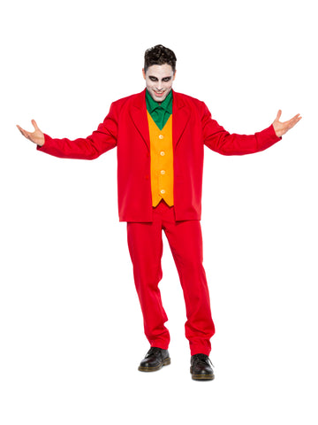 Villain Leisure Suit Costume (Adult)