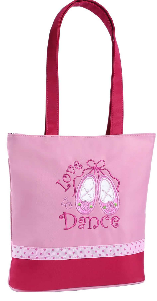 Tote Love 2 Dance/Pink Satin Slippers