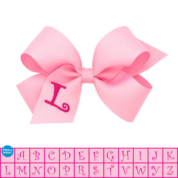 Monogram Bow - Medium