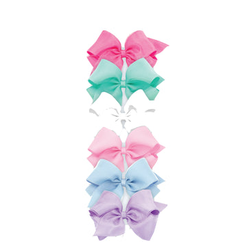 Organza Overlay Bow - Medium