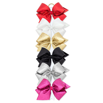 Party Glitter Overlay Bow - X-Large