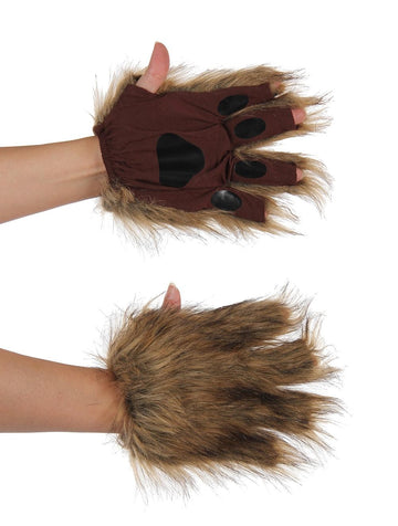 Squirrel Brown Fingerless Paws