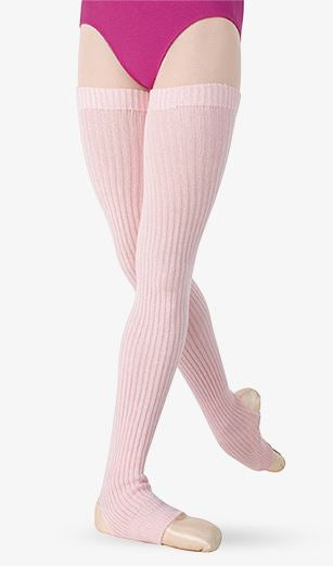 "Legwarmer 36"" Ribbed Knit Stirrup Body Wrappers"