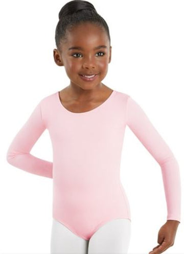 Leotard Long Sleeve Cotton by Body Wrappers (Child)