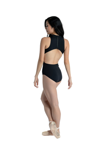 Leotard Mock Neck Cutout Danznmotion (Adult)