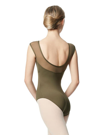 Nikita Mesh Cap Sleeve Leotard by Lulli (Adult)
