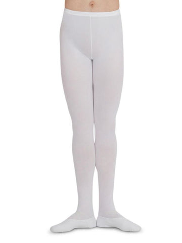 Tights Back Seamed Knit Footed Capezio (Men)