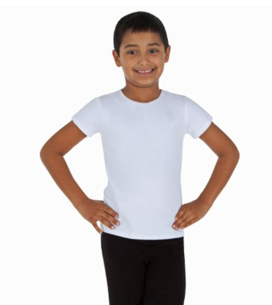 Shirt Short Sleeve Crew Neck Eurotard (Child)