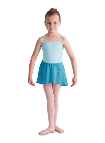 Skirt Mock Wrap Chiffon Bloch (Child)