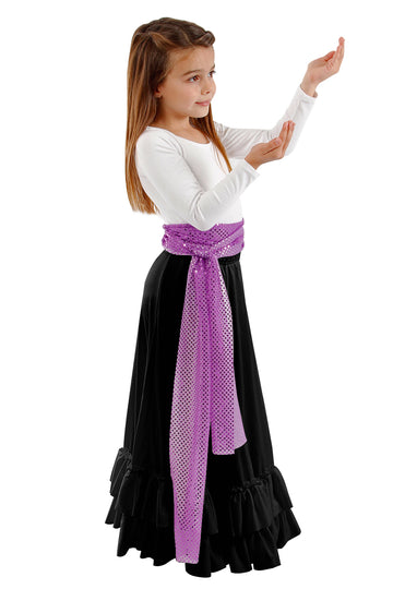 Skirt Flamenco Ruffle Basic Moves (Child)