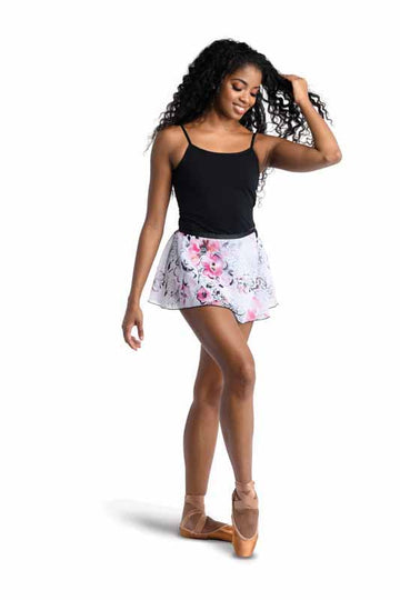 Floral Print Wrap Skirt (Adult)