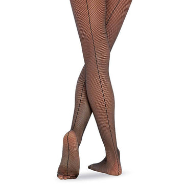 Lightweight Backseam Fishnets by Body Wrappers (Child)
