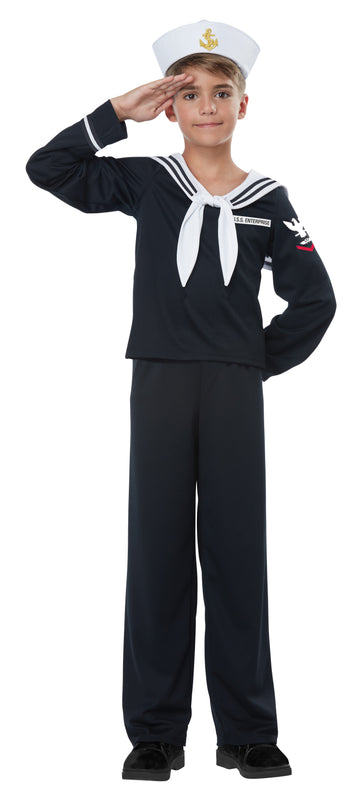 Navy Sailor Boy (Child)