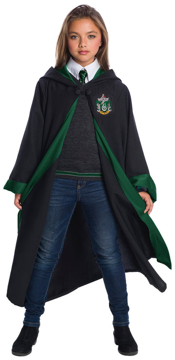 Slytherin Student Robe Costume Super Deluxe (Child)