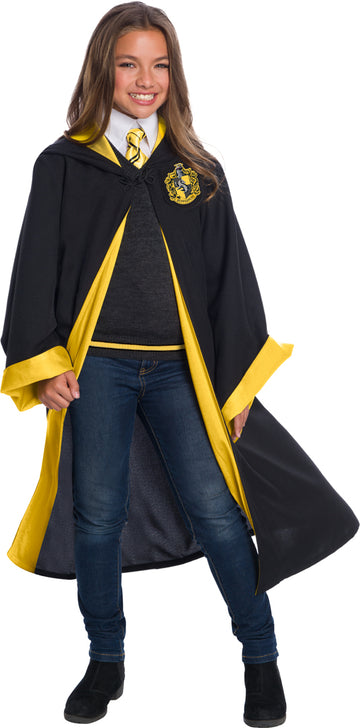 Hufflepuff Student Robe Costume Super Deluxe (Child)