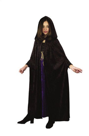 Hooded Cloak Velvet (Child)