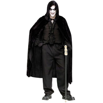 Hooded Velvet Cape (Adult)