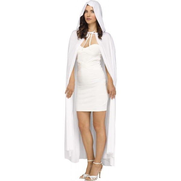 Hooded Cape- White (Adult)