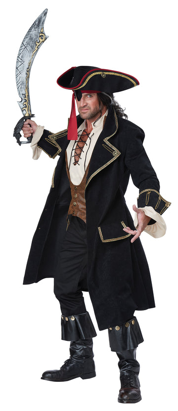 Deluxe Pirate Captain (Adult)