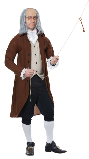 Benjamin Franklin Colonial Man (Adult)