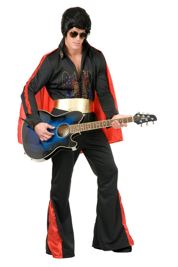 Elvis Deluxe with Cape (Adult)