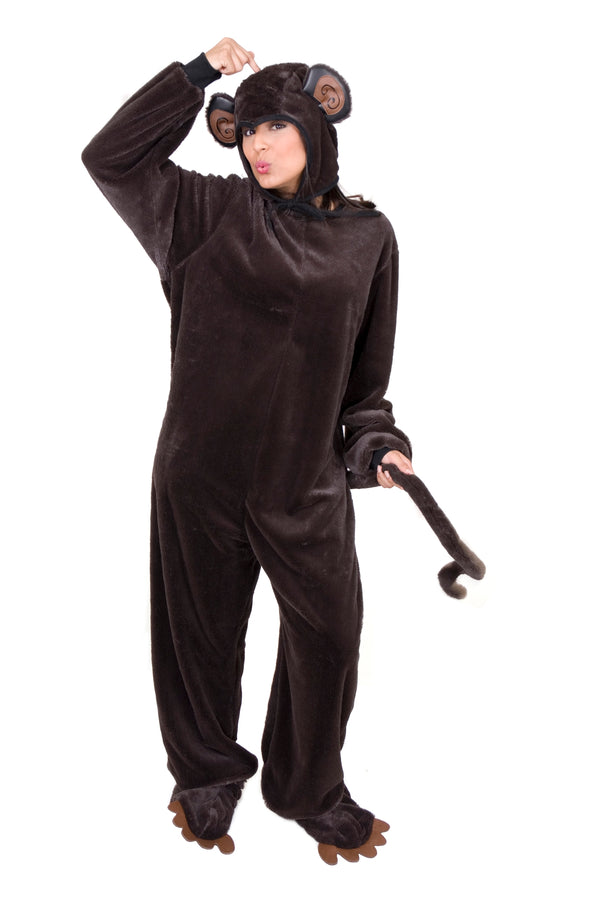Monkey Cozy Costume (Adult)