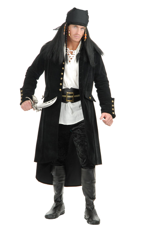 Treasure Island Pirate Coat (Adult)