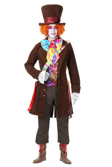 Mad Hatter Super Deluxe Costume (Adult)