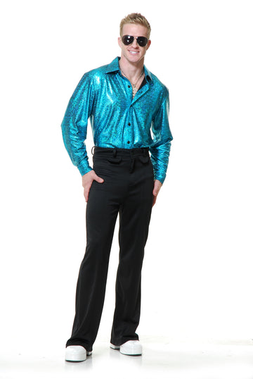 Crocodile Skin Disco Shirt (Adult)