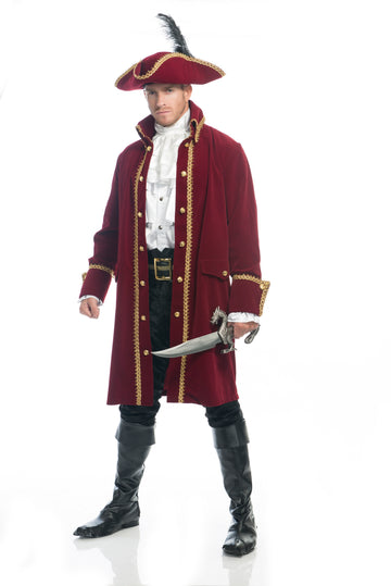 Ruthless Pirate Coat (Adult)