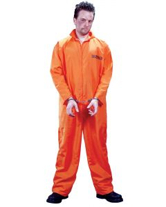 Got Busted Convict Jumpsuit (Adult)