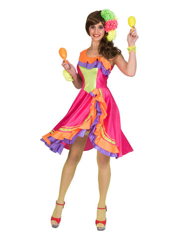 Caribbean Cindy Costume (Adult)