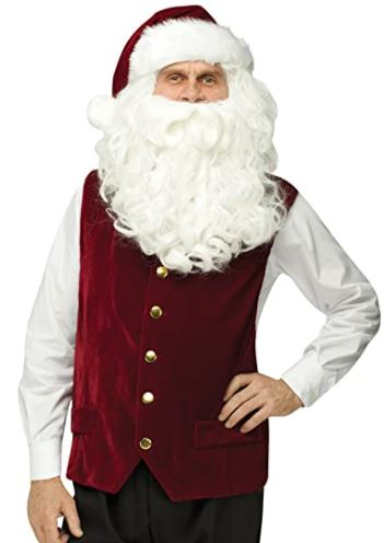 Santa Vest and Hat Set (Adult)
