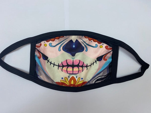 Day of the Dead PPE Mask