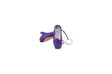 Pointe Shoe Keychain - Purple