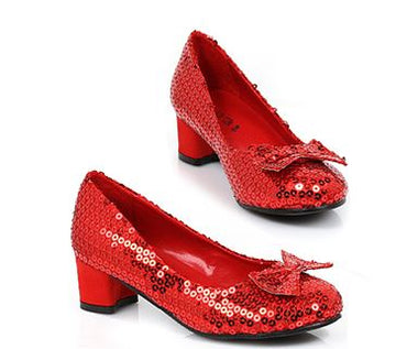 Dorothy Sequin Heeled Pump (Child)