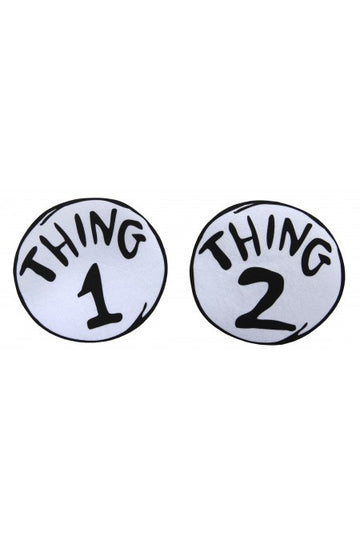 Thing 1-2 Iron On Patches