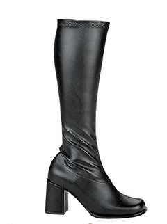 Go-Go Boots Black (Adult)