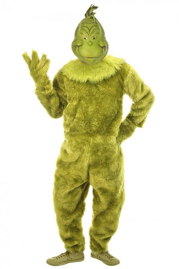 Grinch Costume Deluxe (Adult)