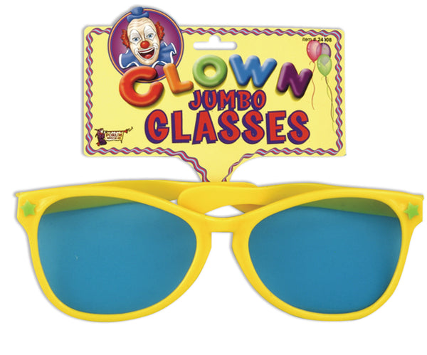 Clown Jumbo Glasses