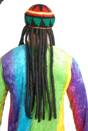 Rasta Style Tam with Dredlocks