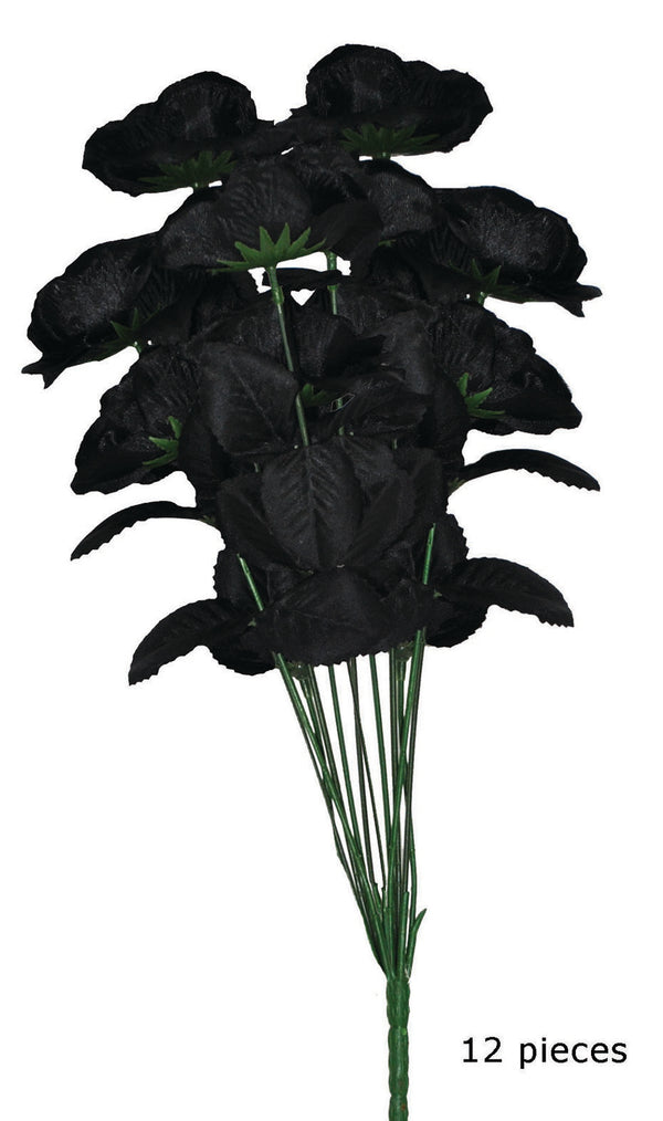 Flower Bouquet Black