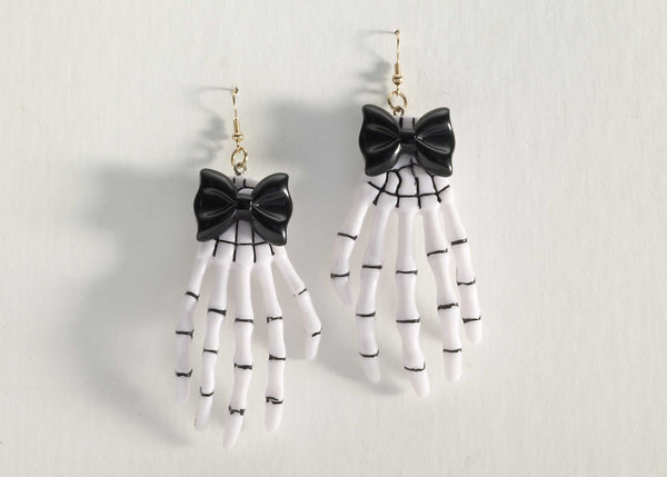 Skeleton Hand Earrings
