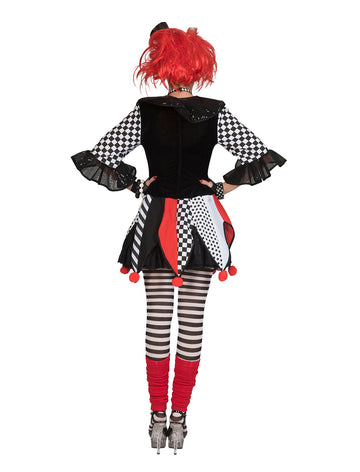 Jester Harlequin Costume (Adult)