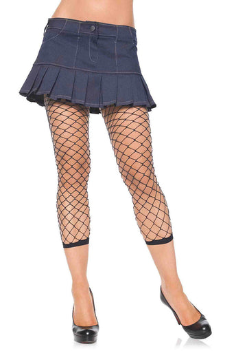 Fence Net Footless Tights